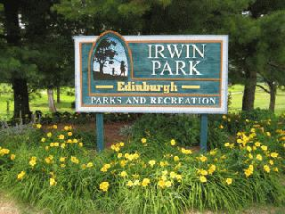 Irwin Park Sign