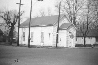 Baptist Church Corner of Center Cross and Main Street Built in 1881