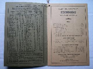 1940 Edinburgh Phone Book Page 1