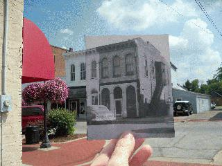 Downtown Then and Now
