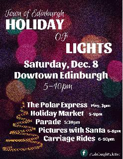 Holiday of Lights Poster 2018